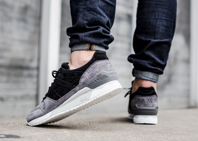 Basket Asics Gel Respector 'Moon Crater' Black Grey (2)