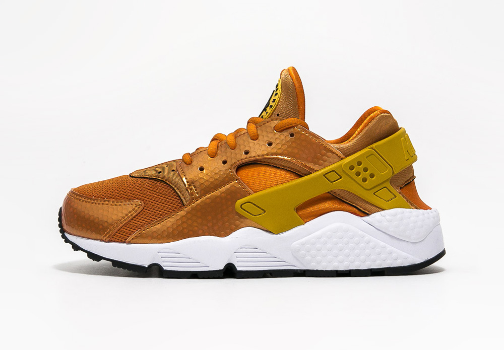 Chaussure Nike Air Huarache Sunset Gold (1)