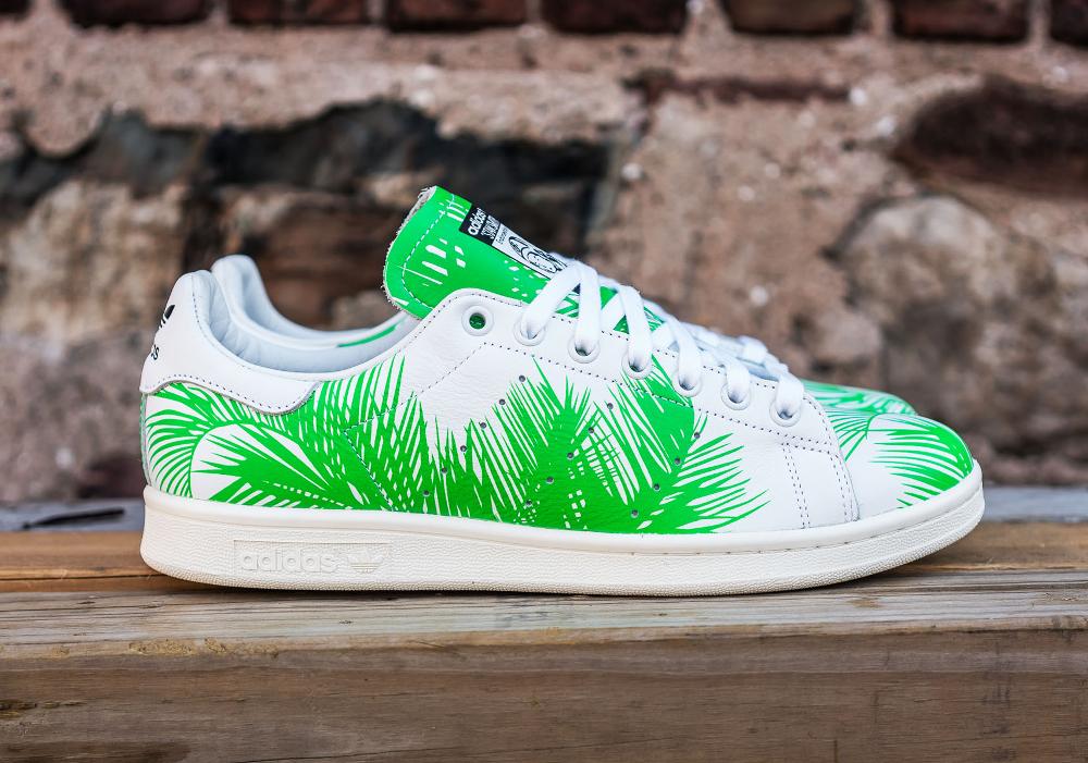 PH x BBC x Adidas Stan Smith Vivid Green (feuilles de palmier) (5)