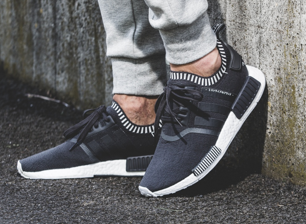 adidas NMD Runner R1 PK Winter Wool Primeknit Black Bb0679 Size