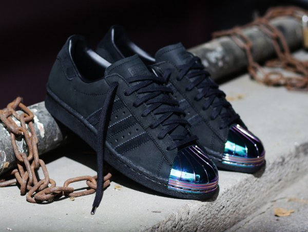 Adidas Superstar 80's W Black 'Metal Toe'