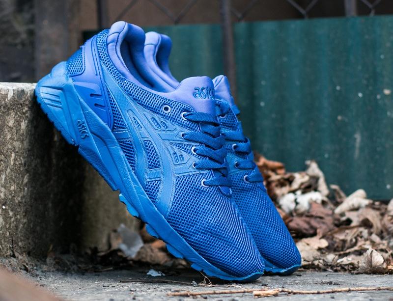 chaussure Asics Gel Kayano Trainer Evo en mesh bleu (1)