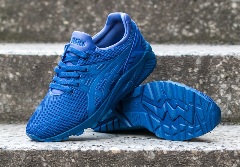 chaussure Asics Gel Kayano Trainer Evo en mesh bleu (7)