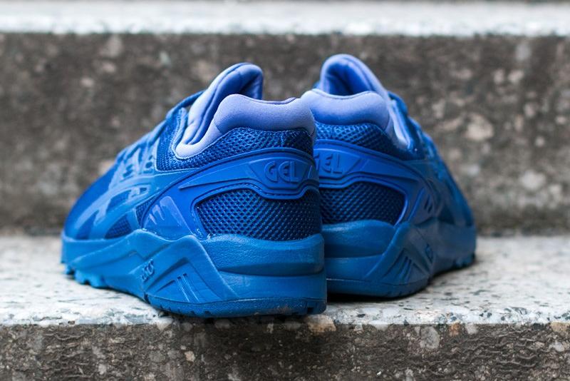 chaussure Asics Gel Kayano Trainer Evo en mesh bleu (8)