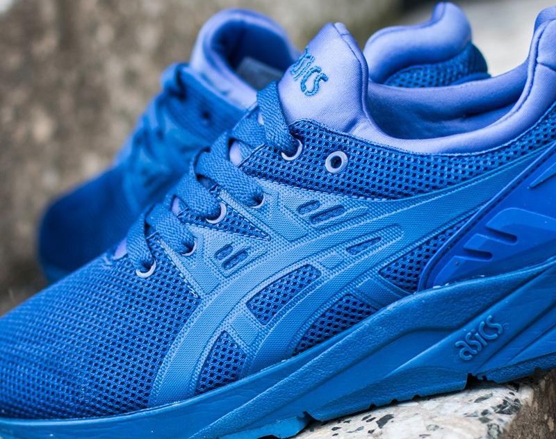 chaussure Asics Gel Kayano Trainer Evo en mesh bleu (9)