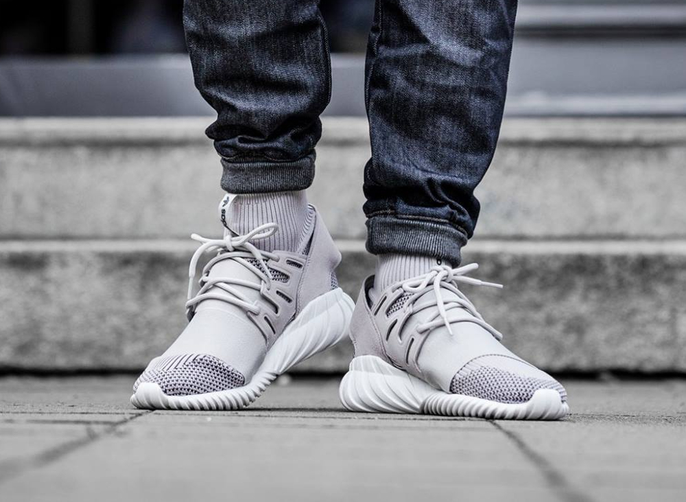 Adidas TUBULAR DOOM PK Granite/White Bodega