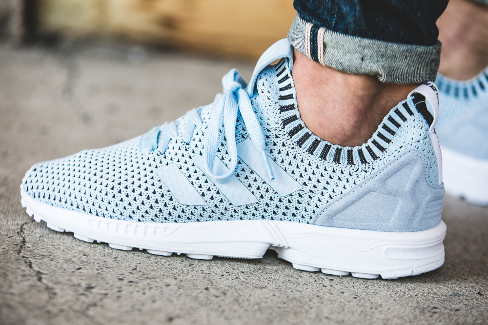 Adidas ZX Flux Primeknit Ice Blue (3)