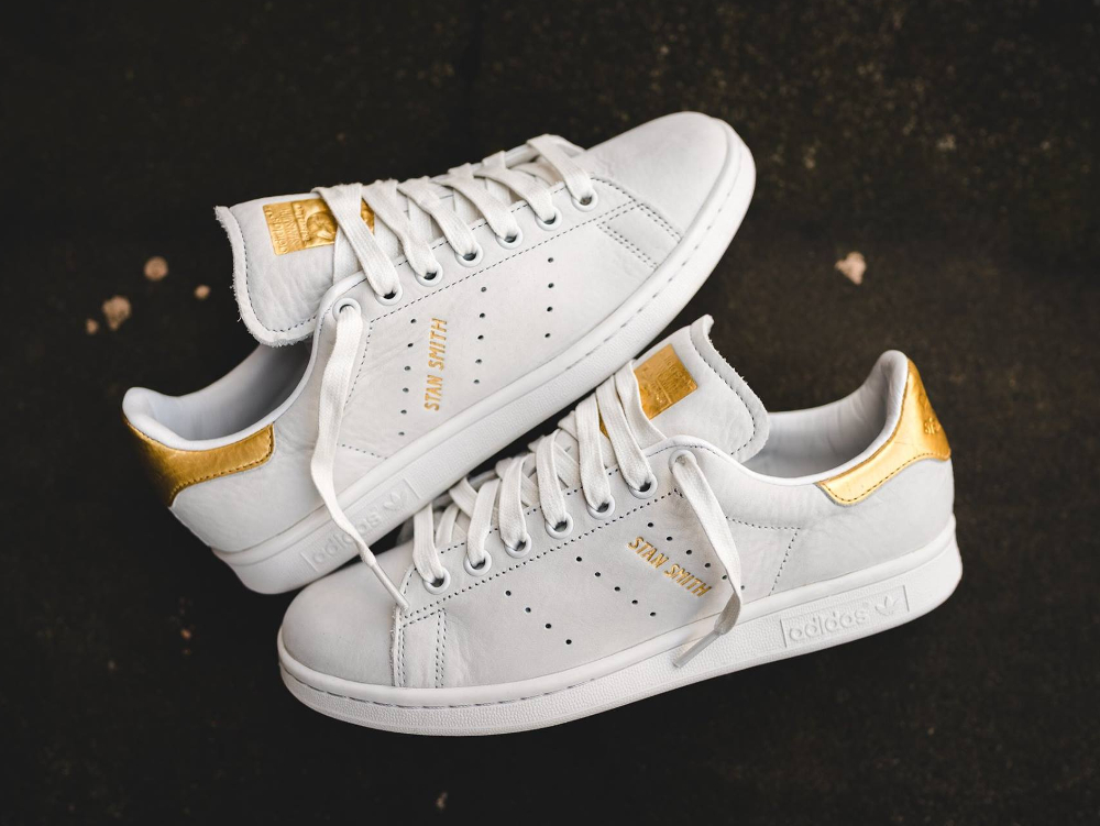 Basket Adidas Stan Smith Premium 999 '24K Gold' (1)