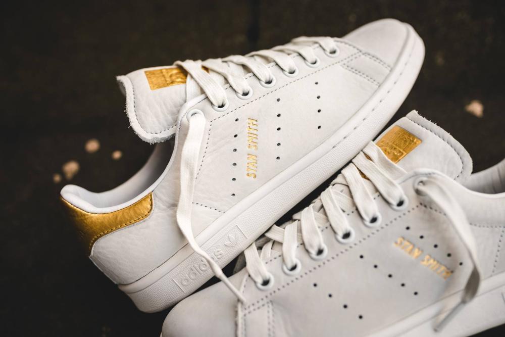 Basket Adidas Stan Smith Premium 999 '24K Gold' (2)