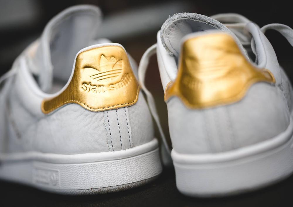 Basket Adidas Stan Smith Premium 999 '24K Gold' (4)