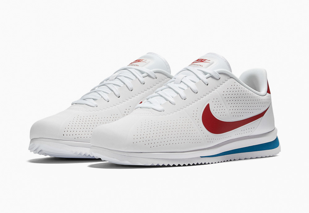 Basket Nike Cortez Ultra Moire White Varsity Red (1)