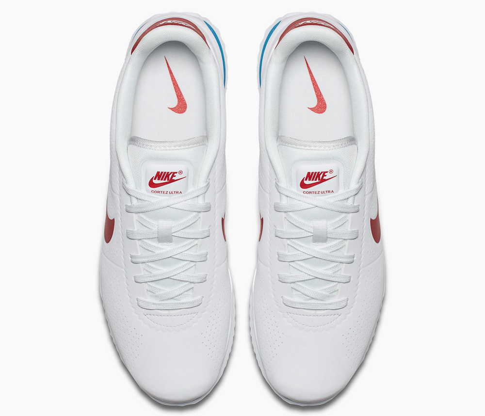 Basket Nike Cortez Ultra Moire White Varsity Red (4)