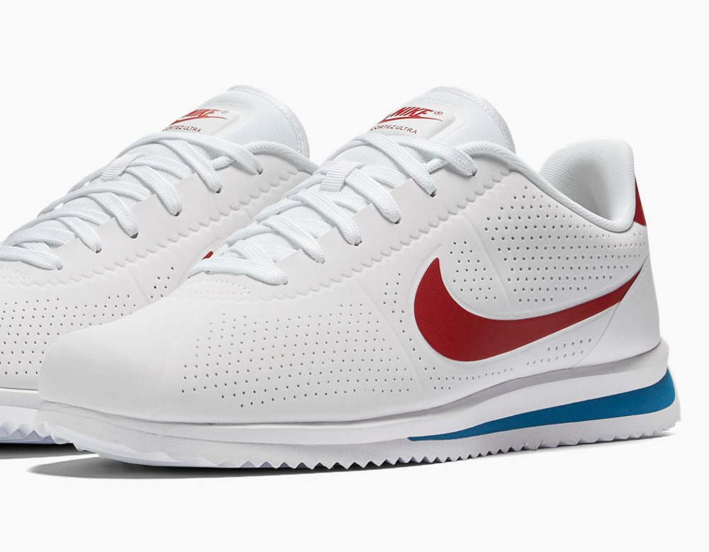 Basket Nike Cortez Ultra Moire White Varsity Red (7)
