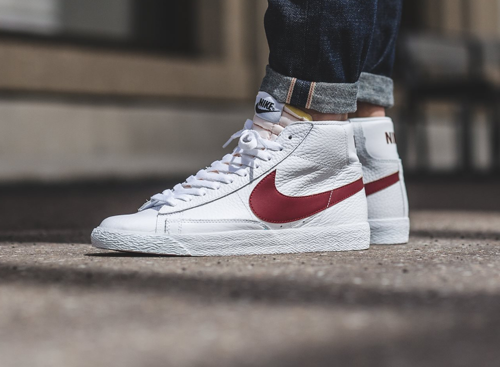 Og Nike Retro chaussure Mid Prm Blazer Red 2016 zMVSUp
