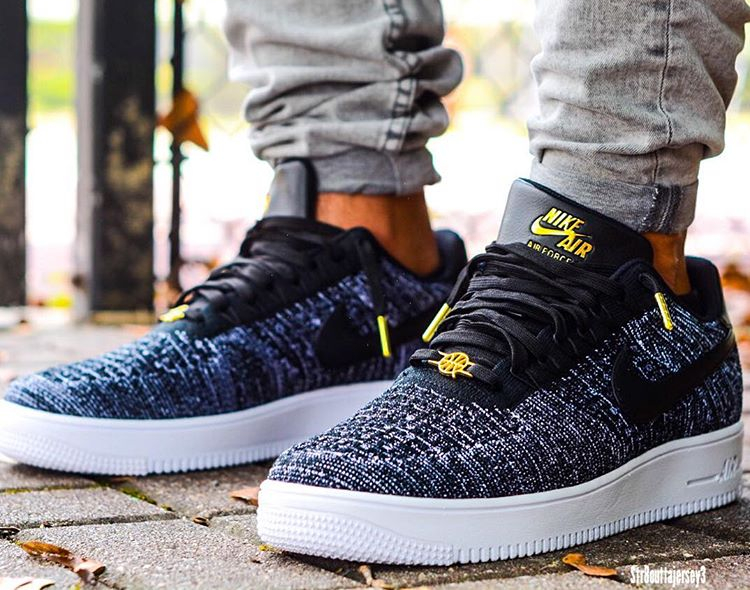 new style 640ca d66f1 Nike Air Force 1 Low Flyknit Quai 54