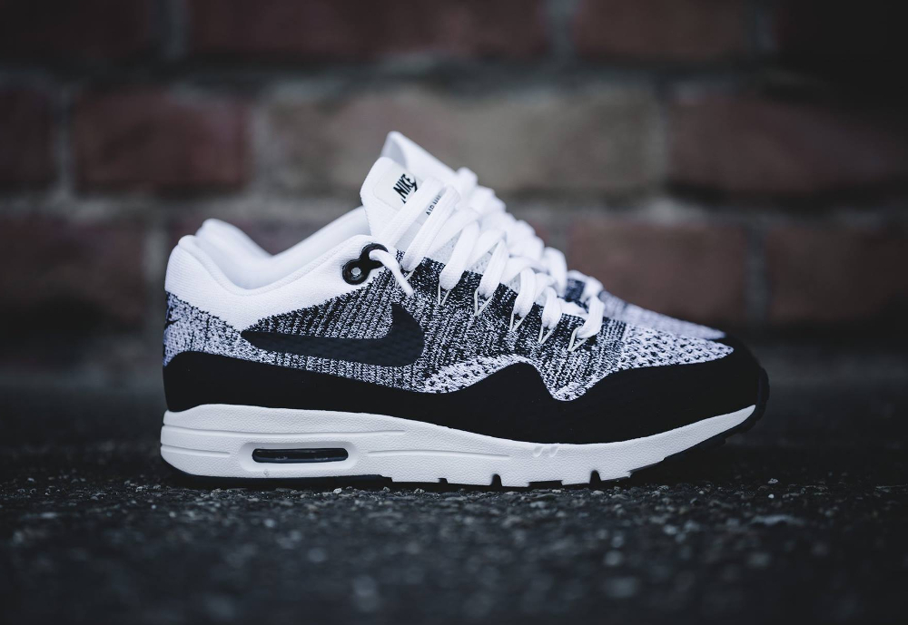 Nike Air Max 1 Ultra Flyknit 'Oreo' (homme & femme)