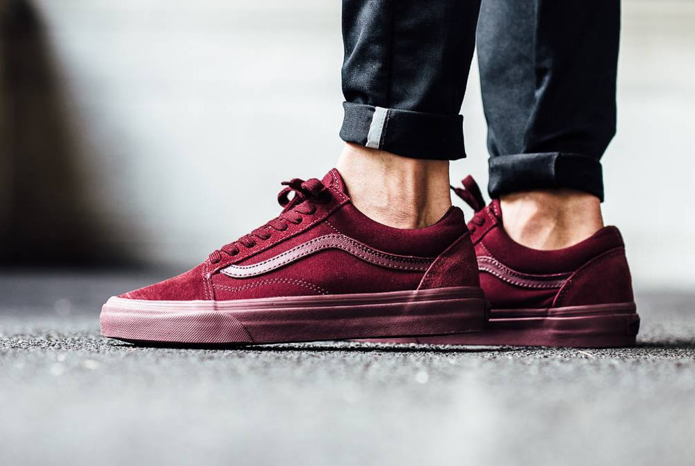 Vans Old Skool Bordeaux Ifko Pub Fr