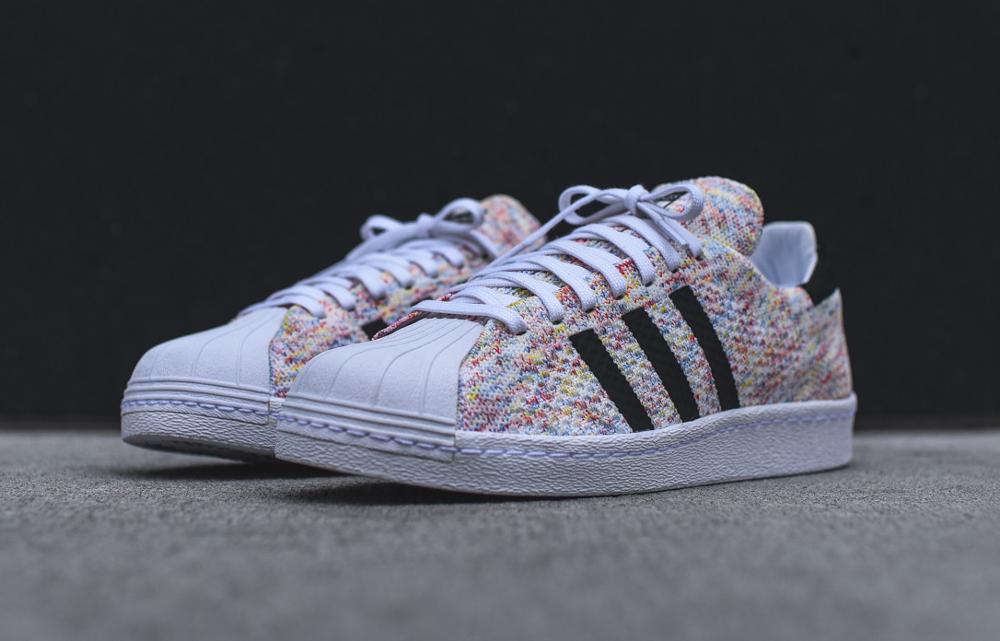 acheter chaussure Adidas Superstar 80's OG PK Primeknit 'Multicolor' (2)