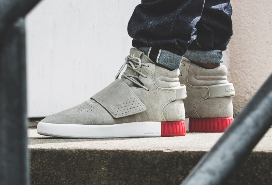 adidas tubular invader bebe rose