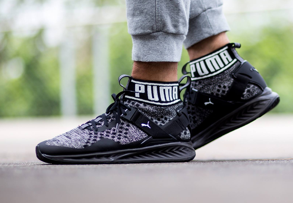 Puma Ignite 3 Evoknit Black