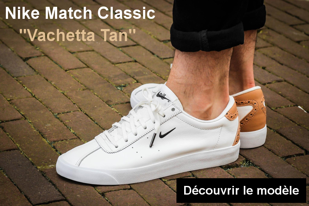 bannière nike match classic suede