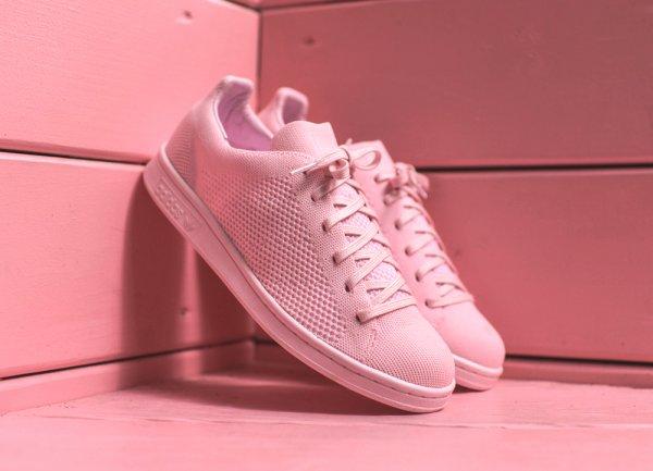 Adidas Stan Smith Primeknit 'Pink Glow & Vapour Green'