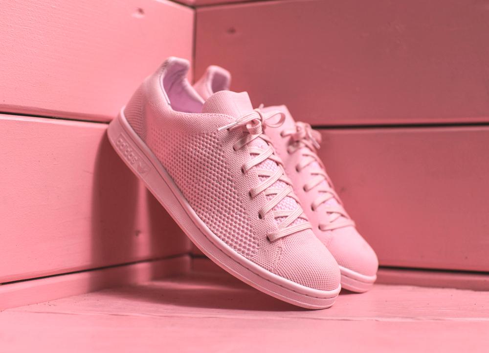 Adidas Stan Smith Primeknit rose (1)