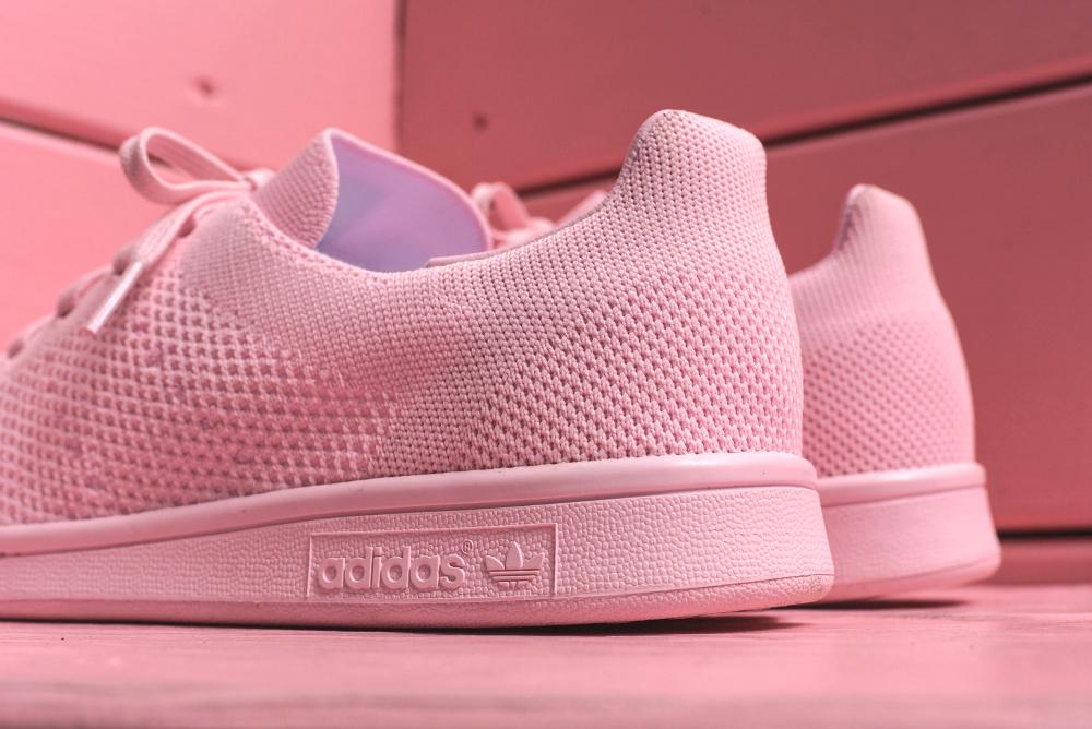 Adidas Stan Smith Primeknit rose (3)