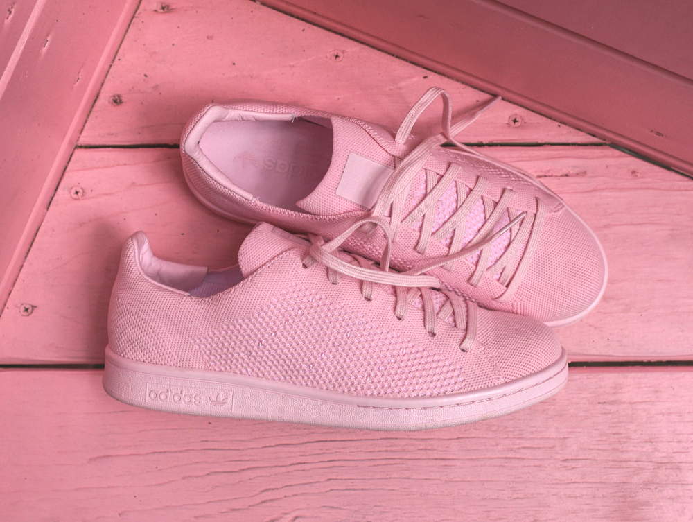 Adidas Stan Smith Primeknit rose (4)