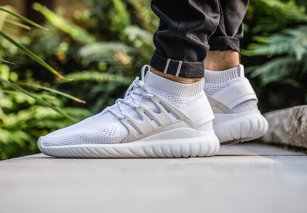 ade15a1768a9 Adidas originals Tubular X Primeknit Sneaker in White for Men Lyst