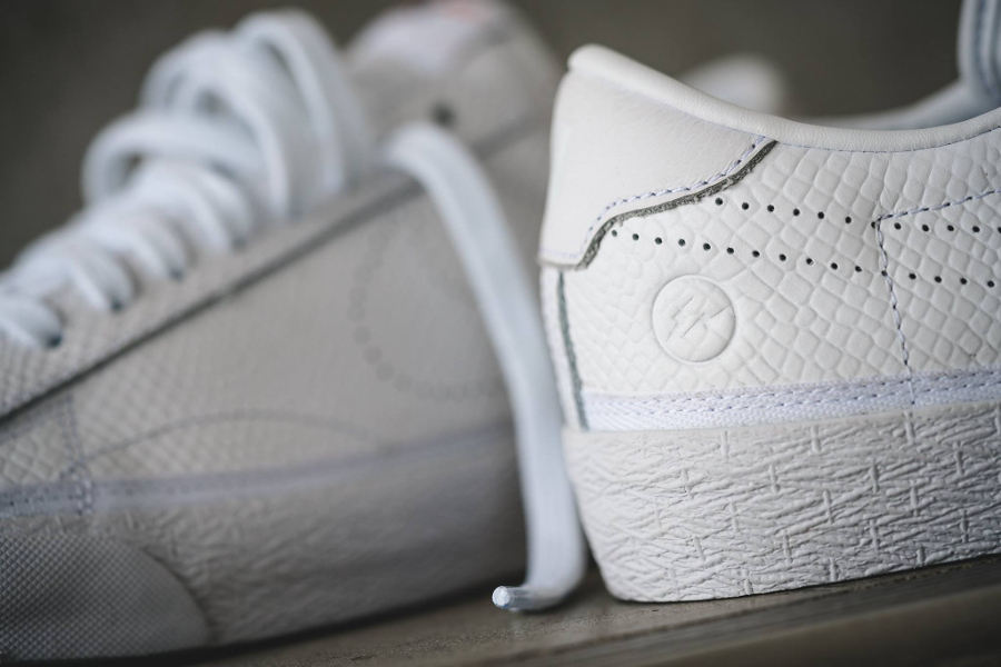 Fragment Design x Nike Zoom Tennis Classic 'White Reptile'