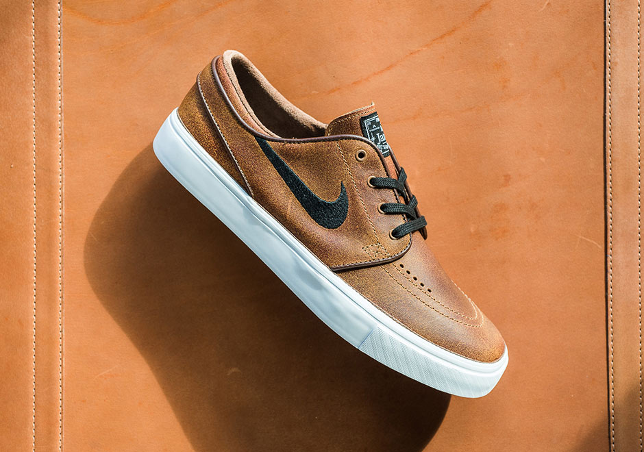 Nike SB Zoom Stefan Janoski EliteBaskets Marron