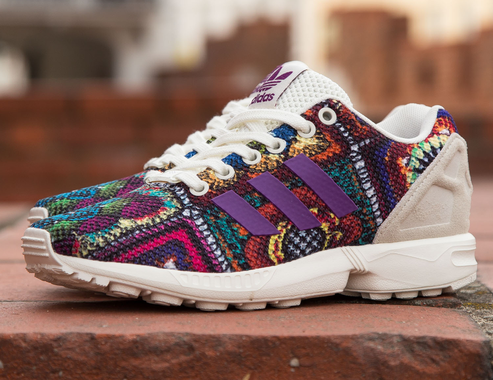 The Farm Company x Adidas ZX Flux W Mid Grape (1)