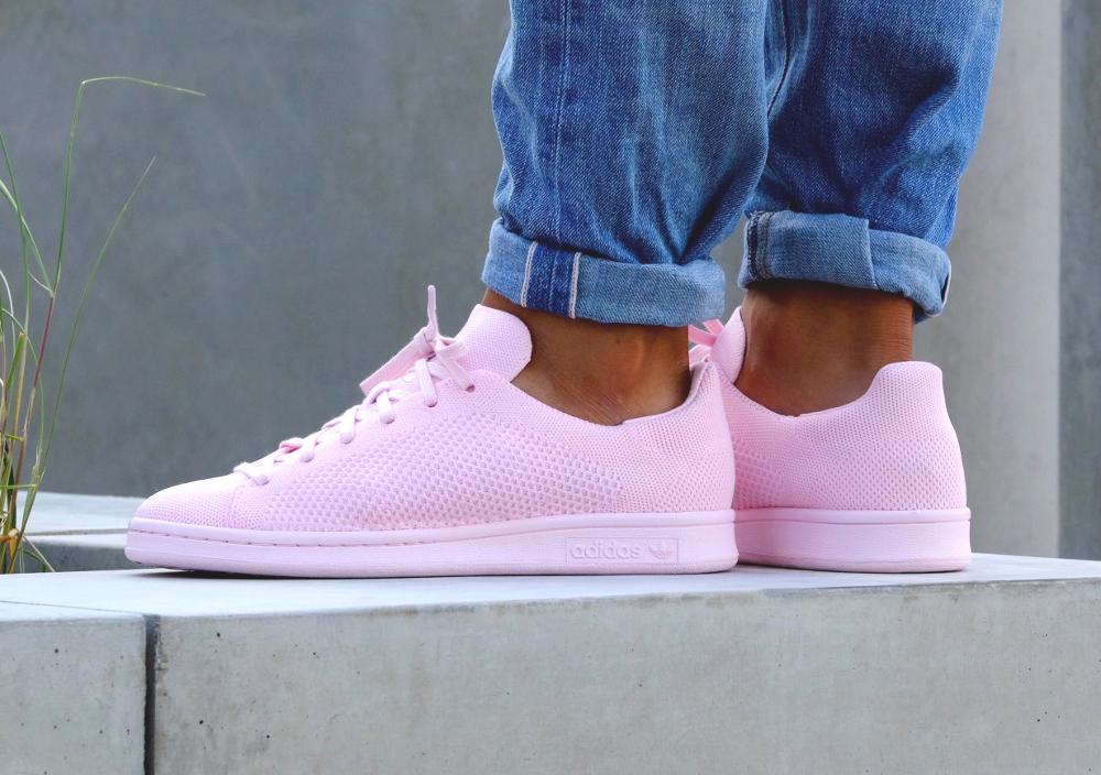 acheter chaussure Adidas Stan Smith PK Primeknit Pink Glow (1)