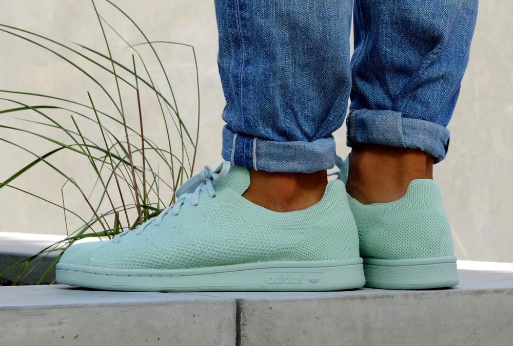 acheter chaussure Adidas Stan Smith PK Primeknit Vapour Green (1)