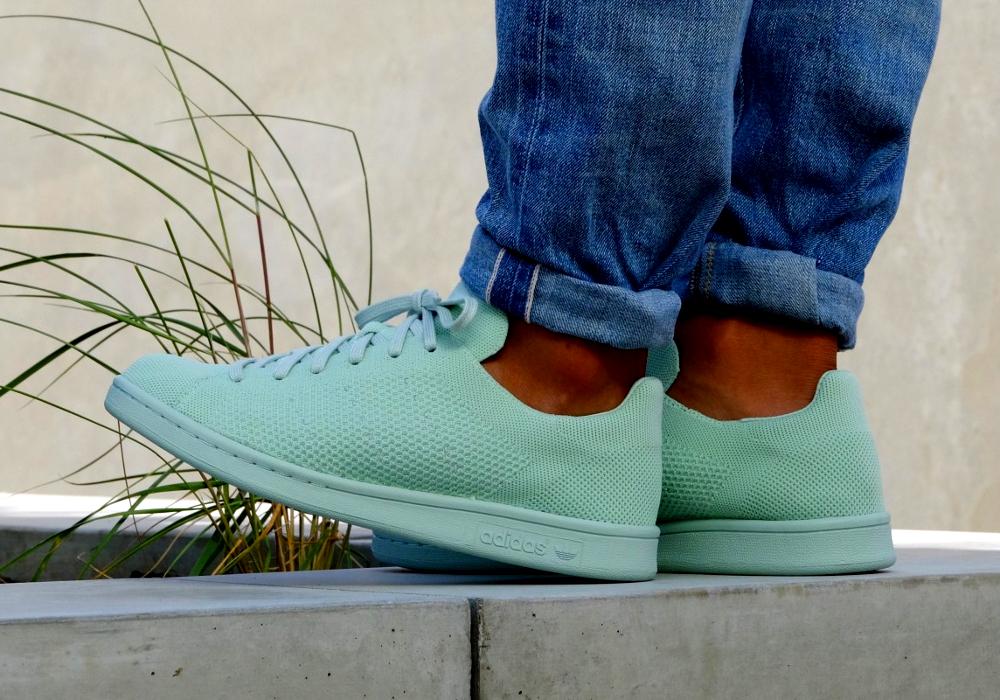 acheter chaussure Adidas Stan Smith PK Primeknit Vapour Green (3)