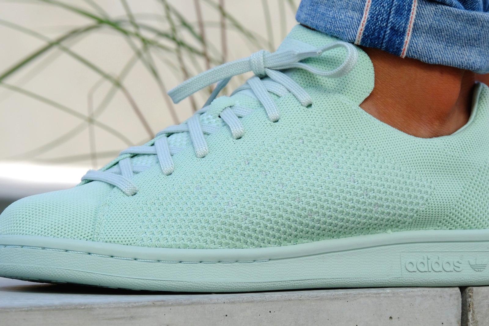 acheter chaussure Adidas Stan Smith PK Primeknit Vapour Green (4)