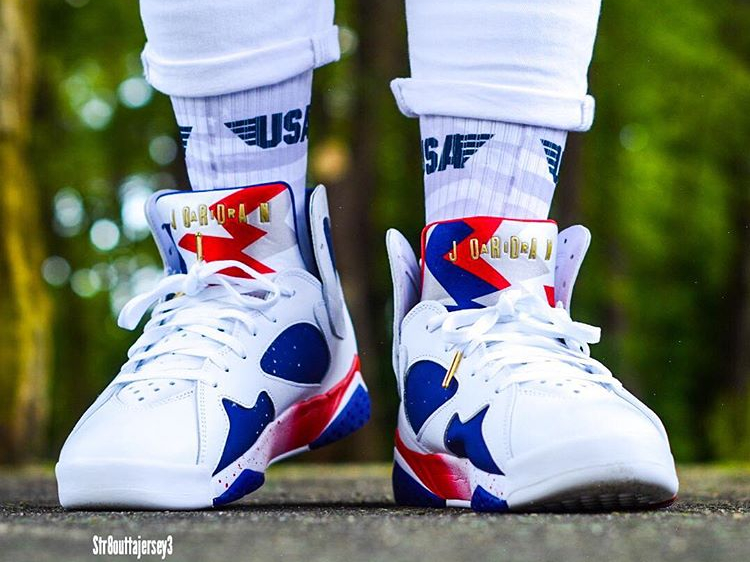 avis basket Air Jordan 7 Retro Olympic Tinker Alternate (5)
