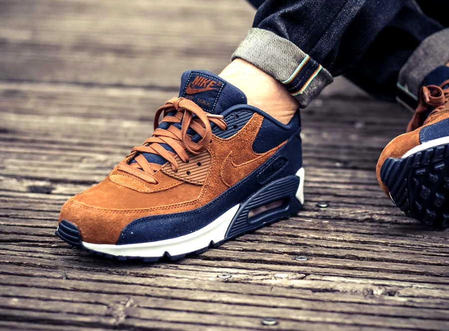 nike air max 90 ale brown