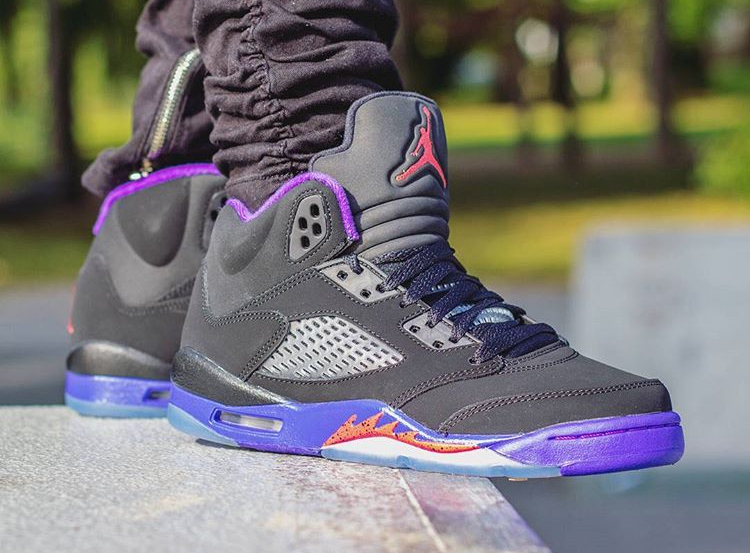 Air Jordan 5 Retro 'Fierce Purple' post image