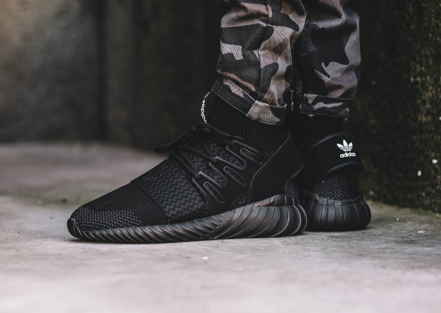 Mens Cheap Adidas Tubular Shadow Core Black Charcoal Solid Grey White