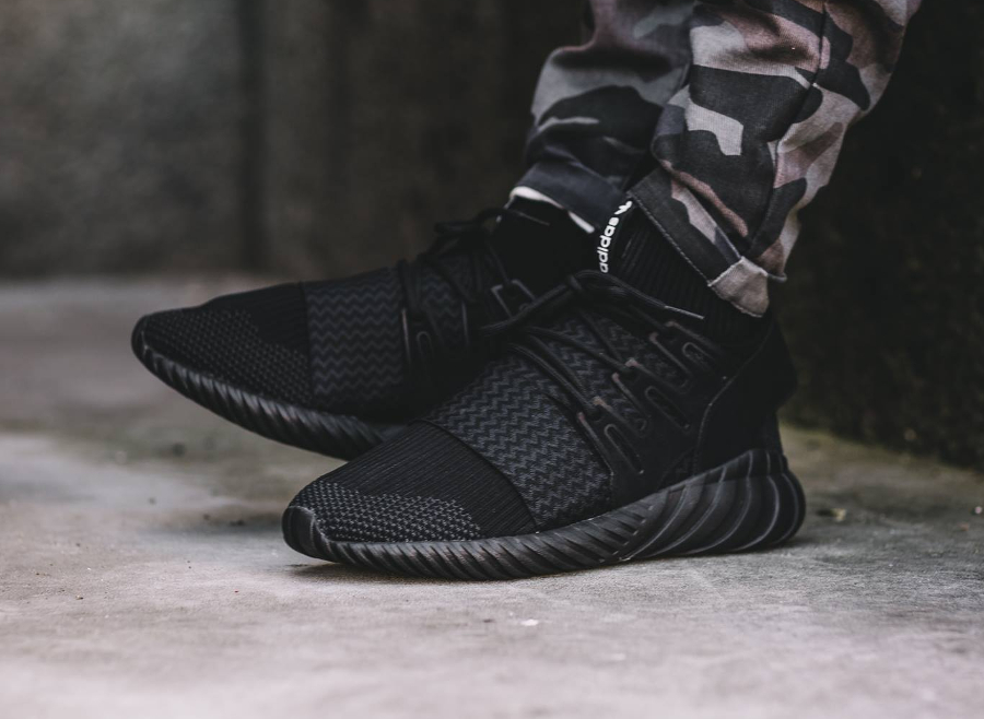 Adidas Men Tubular Doom Triple Black Black core black Bait