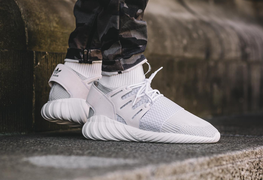 adidas tubular doom white
