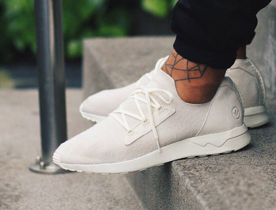 avis basket Wings + Horns x Adidas ZX Flux ADV X 'Off White'