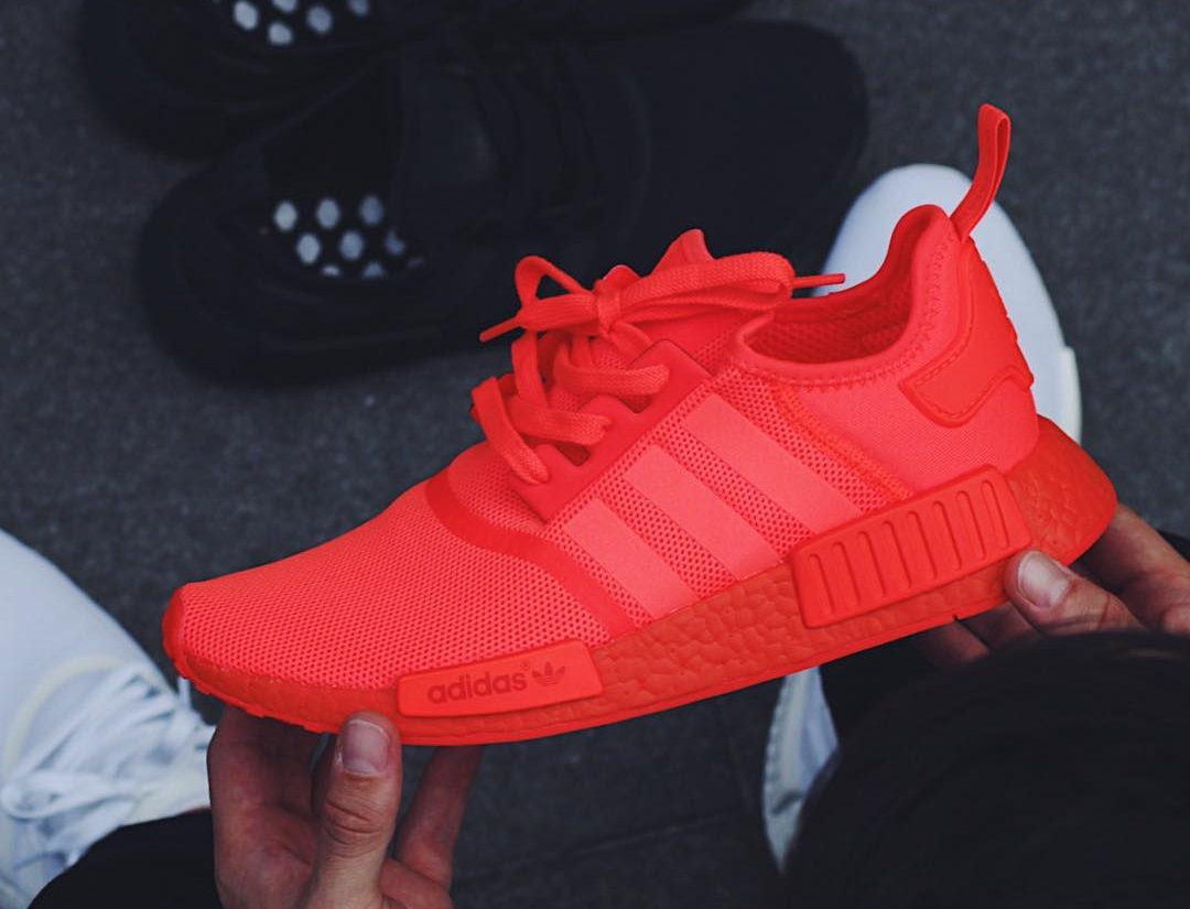 Adidas NMD R1 Runner Boost Rouge 'Triple Solar Red'