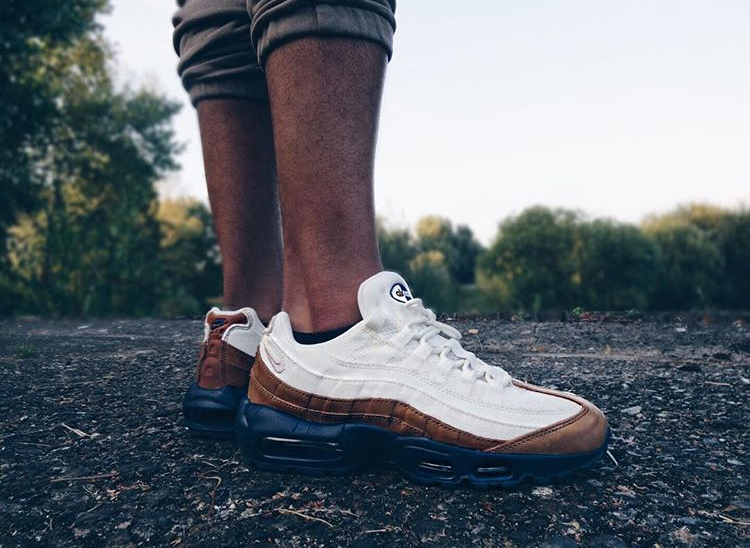 new product df6cf a22d2 nike air max 95 ale brown