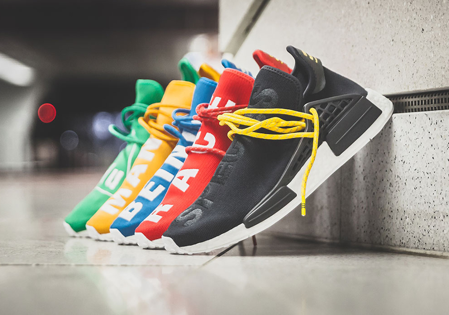 Adidas Pharrell PW Human Race NMD Red