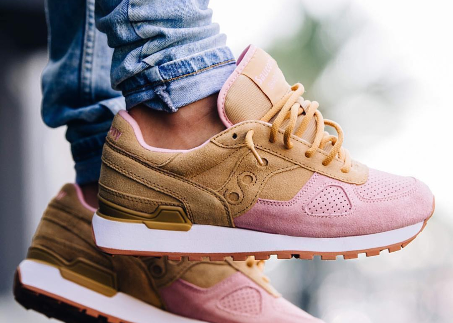 Saucony Shadow Originals 'Cannoli' Tan Pink