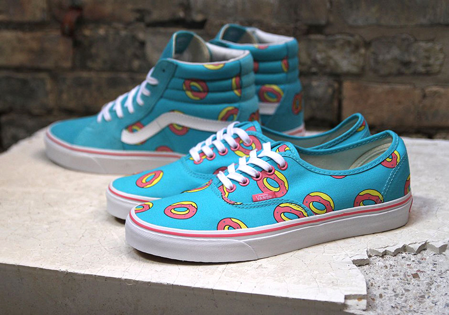 Le pack Odd Future x Vans 'Teal/Pink' post image