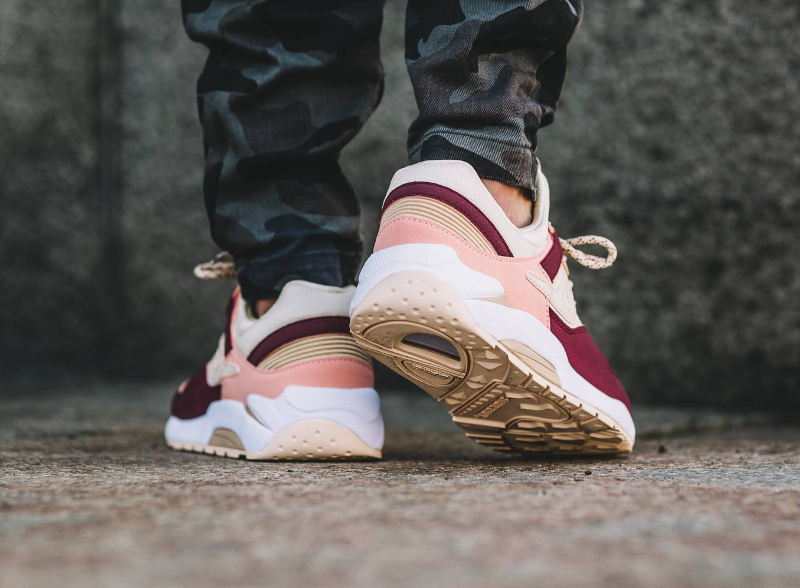avis-basket-saucony-grid-9000-pastel-cream-red-pink-2